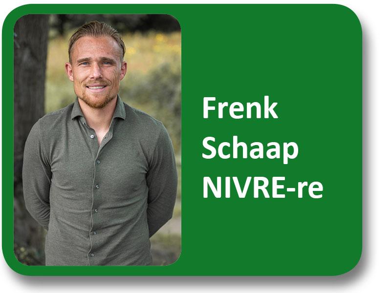 Frenk Schaap NIVRE-re